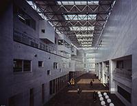 新建築 2008年6月号 メディジン市ベレン公園図書館