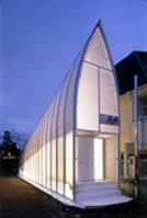 新建築 2005年4月号 富弘美術館