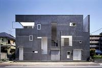 新建築 2005年8月号 三宿の集合住宅