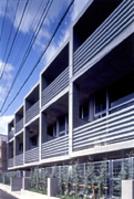 新建築 2005年2月号 調布のアパートメント