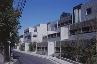 新建築 2001年1月号 国見町生涯学習センター みんなんかん