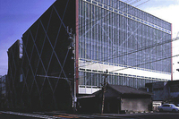 新建築 2000年2月号 天野製薬・岐阜研究所