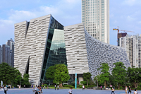 新建築 2014年3月号 加須の美容室