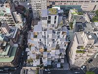 新建築 2018年8月号 アパートメントハウス Hypermix = Architecture Workshop