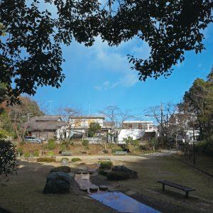 公園と住宅