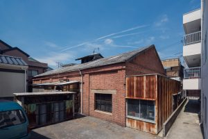 煉瓦倉庫の隠れ家