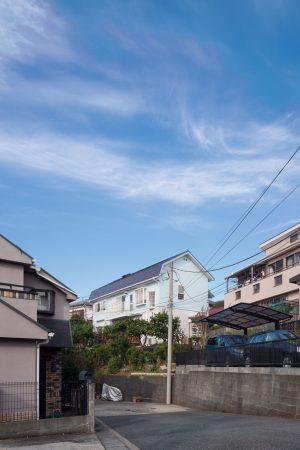 屏風浦の住宅