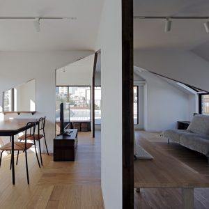屋根型の住宅