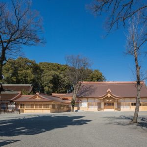 尾張大国霊神社儺追殿