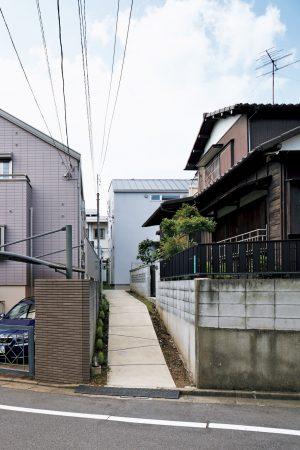 世田谷の2階建ての住宅