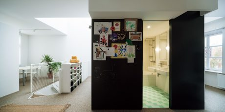 アムステルダムのアパートメント