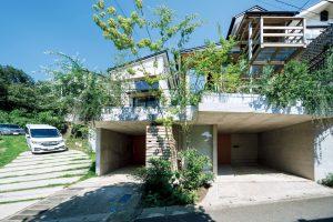 傾斜地の家1・2