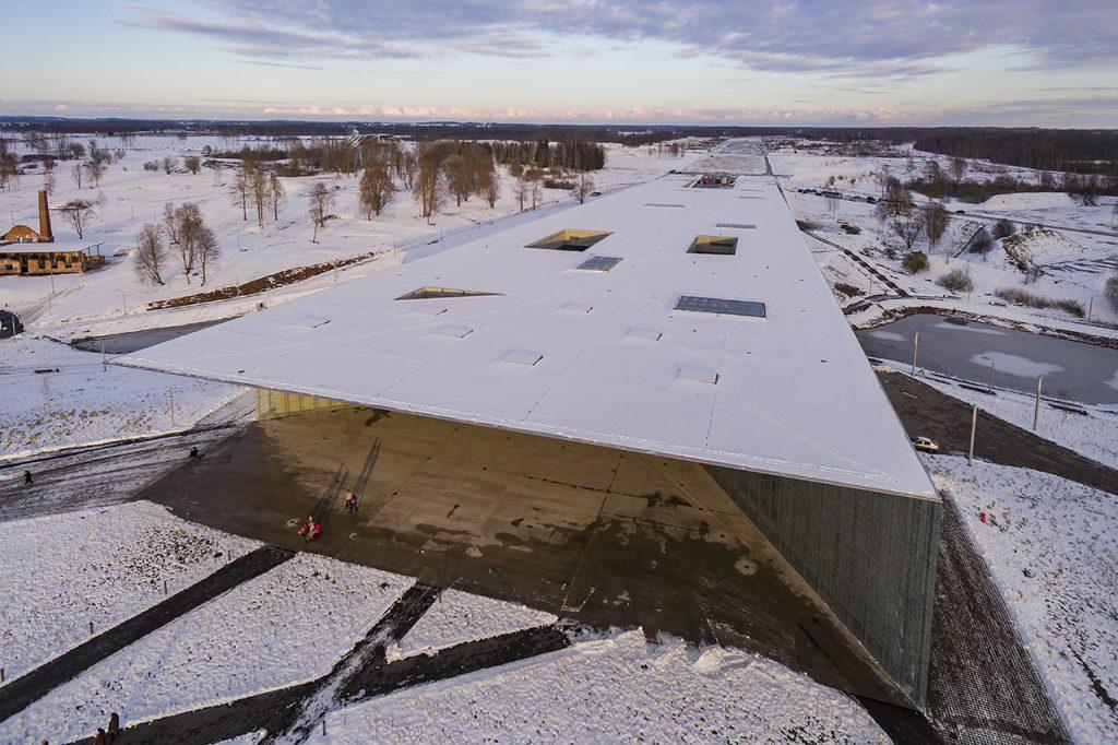 新建築 2016年12月号 エストニア国立博物館 Estonian National Museum
