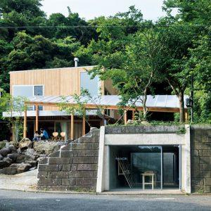 02「稲村の森の家」フジワラテッペイアーキテクツラボ