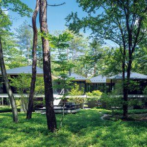 軽井沢矢ケ崎の家