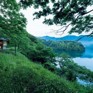 野尻湖の小さな家