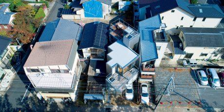 09「斜条坊の家」畑友洋建築設計事務所