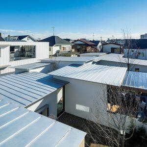 12「Seven-Gardens-House」IKAWAYA建築設計