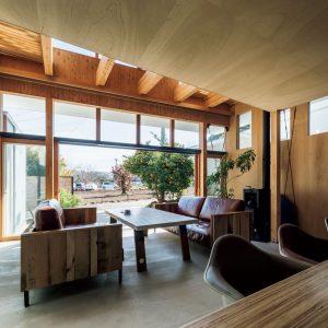 小高町の家横浜のオフグリッドハウス