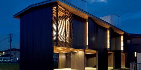 14「いなみ野の高床」殿井環+芦田奈緒/殿井建築設計事務所