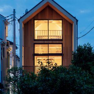 06「郊外の3階建て」倉林貴彦建築設計事務所