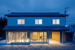 東貝塚の納屋