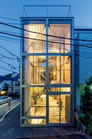 07「恵比寿の家」山路哲生建築設計事務所+釜萢誠司建築設計事務所