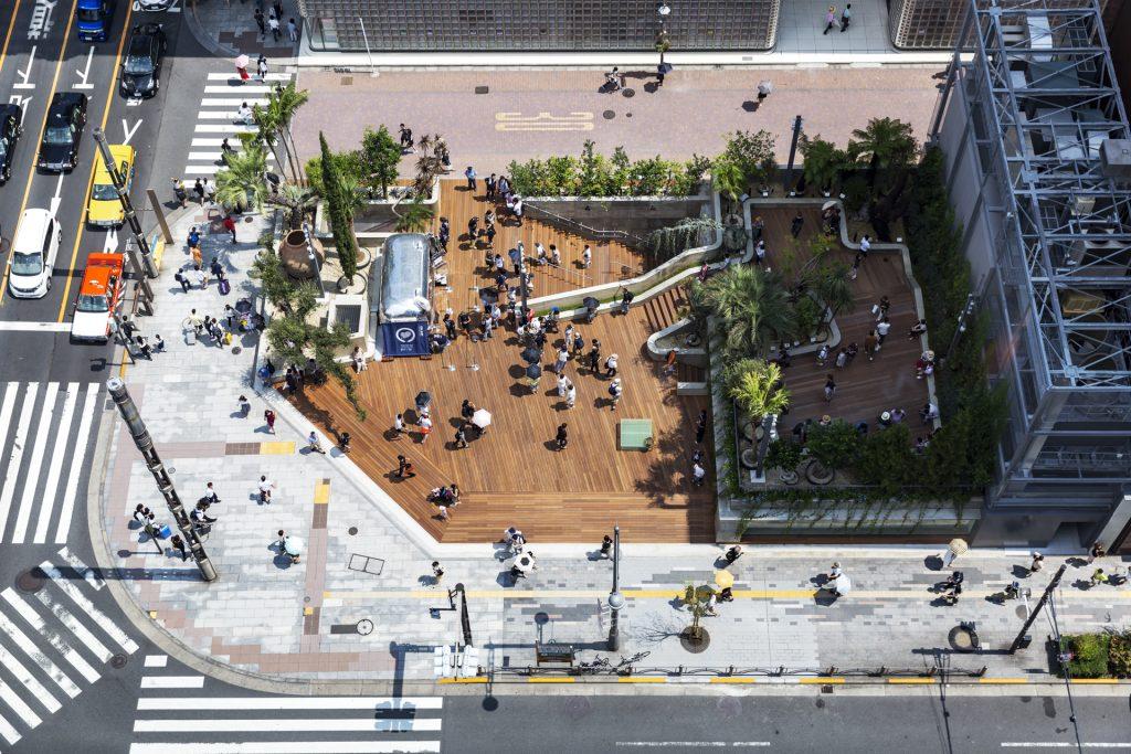 新建築 2018年9月号 ボタニカルガーデンアートビオトープ「水庭」 Taipei Nanshan Plaza