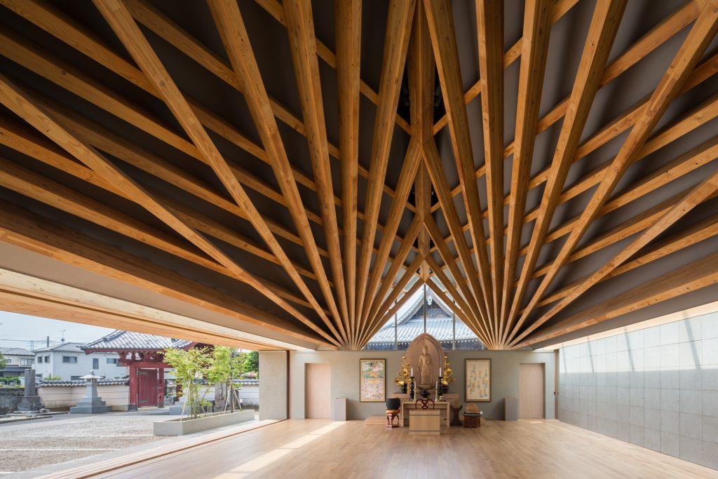 新建築 2018年10月号 木造特集 Tomioka Chamber of Commerce and Industry