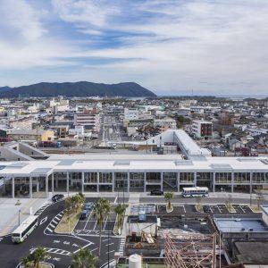 延岡駅周辺整備プロジェクト延岡市駅前複合施設 エンクロス