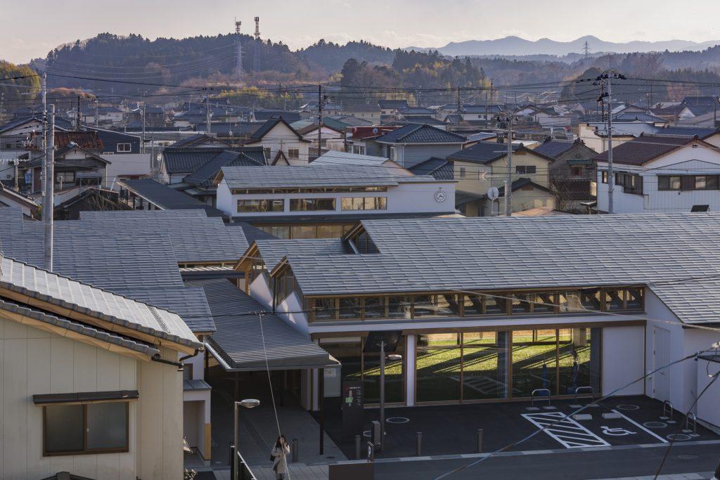 新建築 2019年3月号 リノベーション14題 Sukagawa Community Center Tette