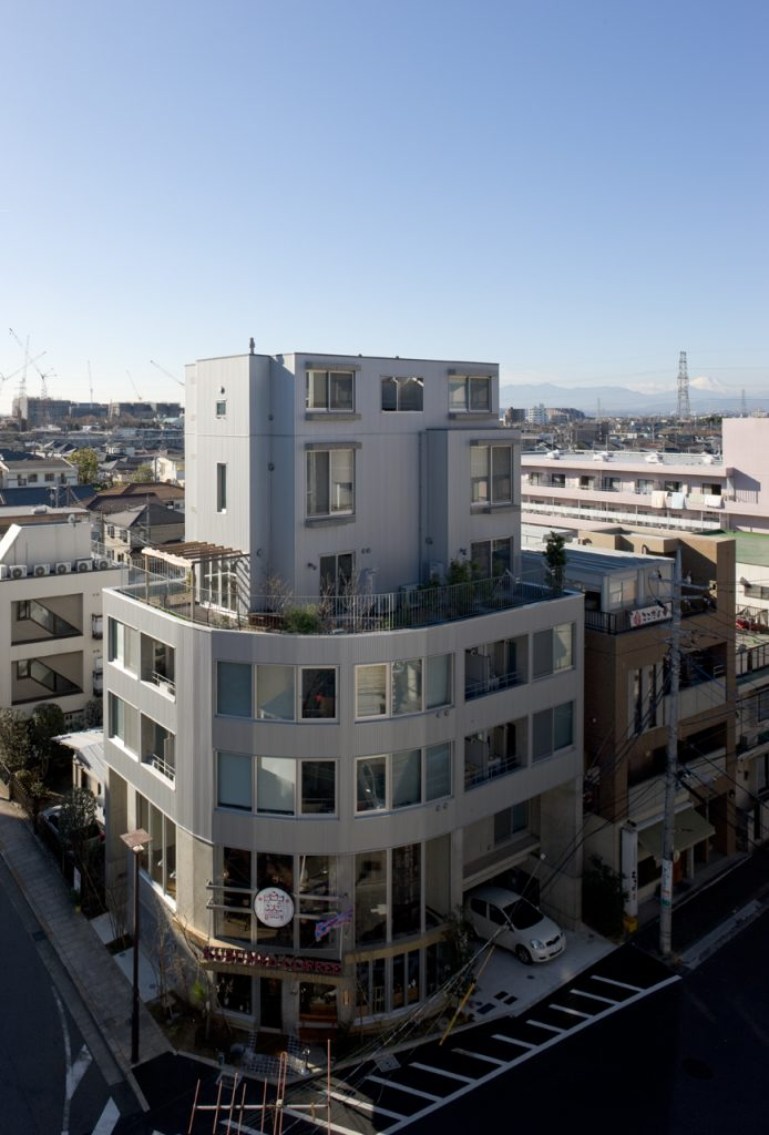 新建築 2009年2月号 KEYAKI GARDEN