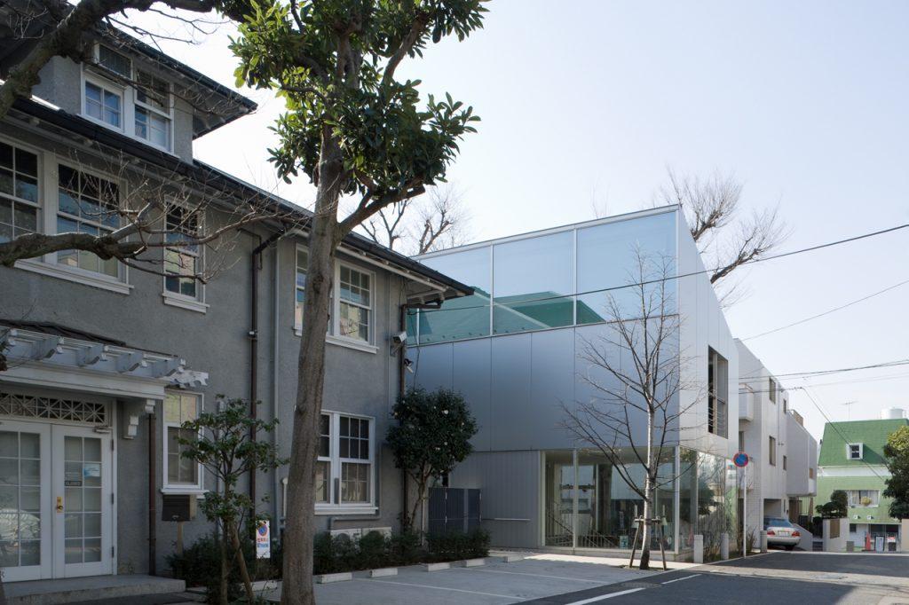 新建築 2009年3月号 長岡市立東中学校