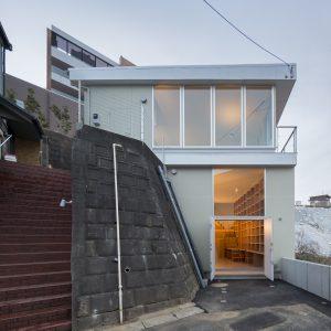 井田坂の住宅