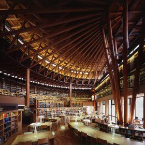 国際教養大学図書館棟・講義棟