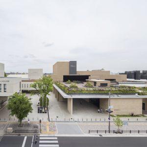 豊中市立文化芸術センター - 設計: 日建設計 施工: 大林組・河崎組特定建設工事共同企業体