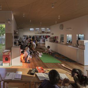 すみれ学童保育クラブ - 設計: アトリエ慶野正司 施工: ツルミ創建所在地 栃木県小山市