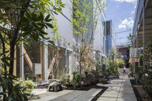 二子アパートメント - 設計: 三家大地建築設計事務所 施工: 和田工務店