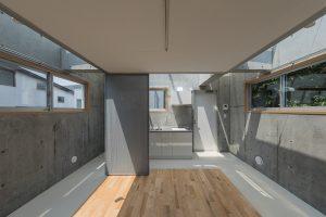 目黒八雲の長屋 - 設計: 高池葉子建築設計事務所 施工: アイガー産業