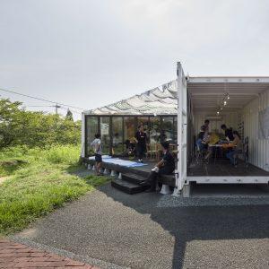 ましきラボ - 設計: 熊本大学田中智之研究室 施工: 相互運輸 三善建設