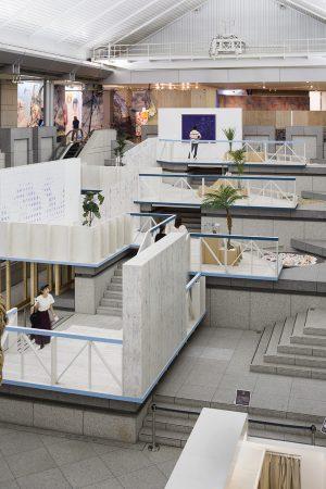 ヨコハマトリエンナーレ2017空間設計 - 設計: フジワラテッペイアーキテクツラボ 施工: NENGO 銘建工業