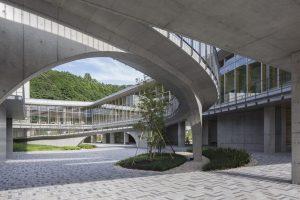 美波町医療保健センター - 設計: 川口有子 + 鄭仁愉 / カワグチテイ建築計画 施工: 東洋建設