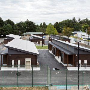 木造仮設住宅群再利用プロジェクト 浪江町復興拠点滞在施設