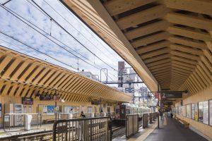 東急池上線戸越銀座駅 - 設計: 東京急行電鉄 アトリエユニゾン 施工: 東急建設