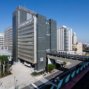 神奈川県庁新庁舎免震改修 + 増築