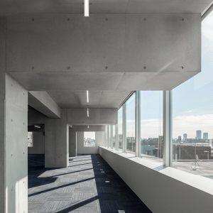 武蔵小杉のオフィスビル増築