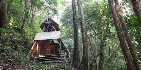 分割造替 金峯神社 ─里の拝殿 森の本殿 遥かなる聖山─