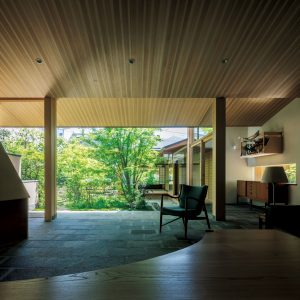 10「表庭の家」横内敏人建築設計事務所