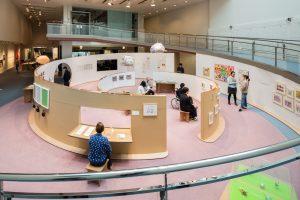 日本財団 Diversity in the Arts 企画展 ミュージアム・オブ・トゥギャザー 会場構成
