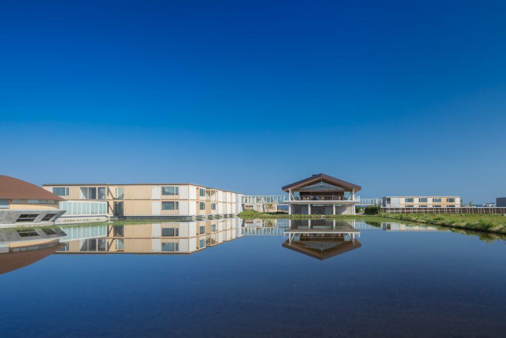 新建築 2019年7月号 竹林寺本坊・庫裏 Teahouse Sekison